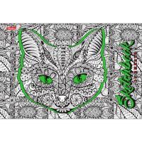 """Альбом для рисования """"Hatber"""", 32л, А4, на скрепке, серия """"DOODLE-ART"""""""