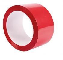 Клейкая лента упаковочная 48 мм х 200 м, красная