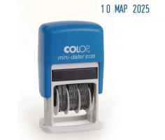 "Мини-датер COLOP ""S120""автоматический, 3,8 мм, месяц буквами"