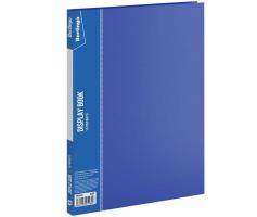"""Папка с файлами Berlingo """"Standard"""" на 10 вкладышей, синяя"""