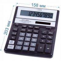 Калькулятор настольный Citizen SDC-888XBK 12-разрядный 203x158x31мм, черный