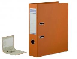Папка-регистратор KUVERT А4, ширина корешка 72 мм, оранжевая