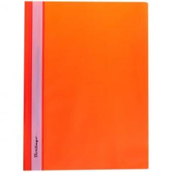 Папка-скоросшиватель Berlingo, А4, 180 мкм, оранжевая