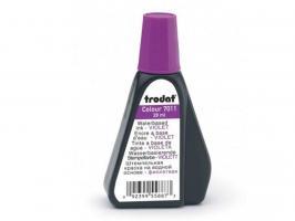 Краска штемпельная TRODAT, 28 мл, фиолетовая