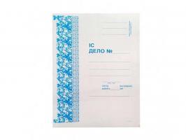 Папка-скоросшиватель картонная KUVERT, А4 формат, 320 гр, белая