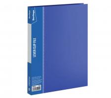 """Папка с зажимом Berlingo """"Standard"""" А4, 17мм, 700 мкм, синяя"""