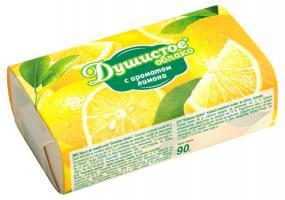 """Мыло туалетное """"Душистое облако"""", с ароматом лимона 90гр/63"""