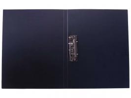 Папка с зажимом OfficeSpace, A4, 15 мм, 500 мкм, черная