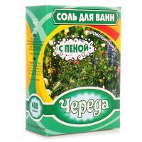 """Соль д/ванн """"Череда"""" с пеной 400г*32"""