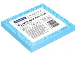 Клейкие листки OfficeSpace 76х76 мм, голубой, 100 листов