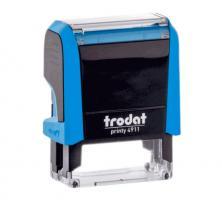 "Оснастка для штампа ""Trodat"",38х14, New,голубой океан"