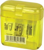 Точилка пластиковая 2-мя лезвиями с контейнером