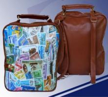 Рюкзак-сумка, кож.зам. 24*34*8см